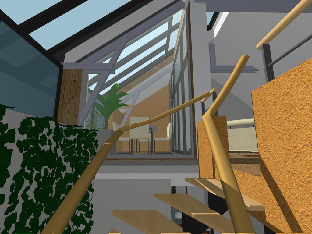 Graine d 39 habitat r novation d une grange en maison bbc for Piscine montfort sur meu