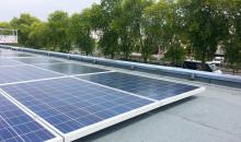 Emeraude Cinéma centrale Photovoltaïque