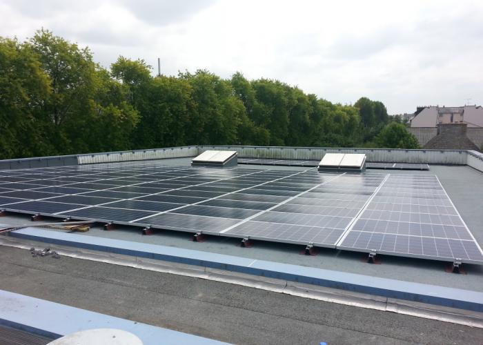 Centrale Photovoltaïque Émeraude Cinémas – Dinan (22) photovoltaique électricité renouvelable