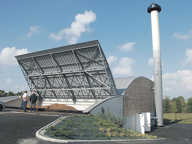 Chaufferie et accès silo Janzé